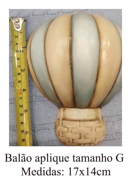 """Balão Aplique Tamanho """"G"""""""