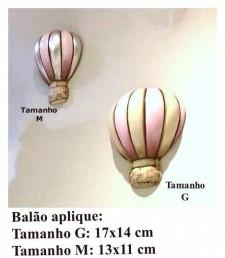 Balão Aplique Tamanho