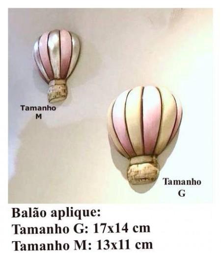 """Balão Aplique Tamanho """"M"""